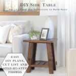 build diy side table basic project opener wood block accent small round wooden room essentials bookcase furniture mission lamp metal target dining decor outdoor sofa and coffee 150x150