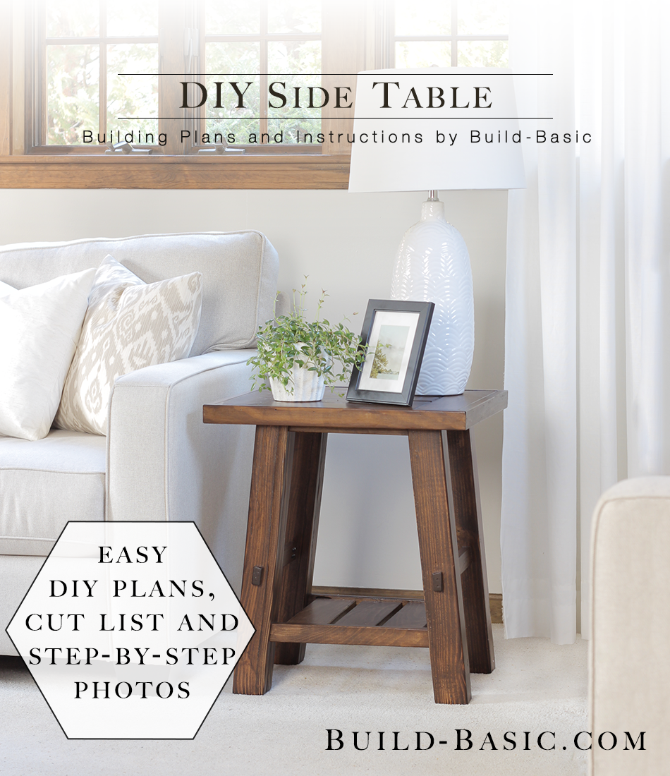build diy side table basic project opener wood block accent small round wooden room essentials bookcase furniture mission lamp metal target dining decor outdoor sofa and coffee