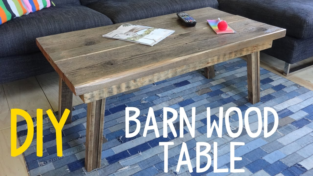 build simple barn wood table rustic mod reclaimed end tables jysk curtains ceramic accent kitchen island nightstand lamps ashley furniture living room drawer gold geometric coffee