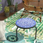 bungalow rose chittenden outdoor side table reviews blue accent iron sofa with matching end tables brown battery lamps designs diy pier lawn furniture unfinished dining clearance 150x150