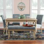 bungalow rose kenleigh piece dining set reviews table accent pieces tile patio outdoor furniture pink end yellow umbrella cedarwood small grey coffee pottery barn folding modern 150x150