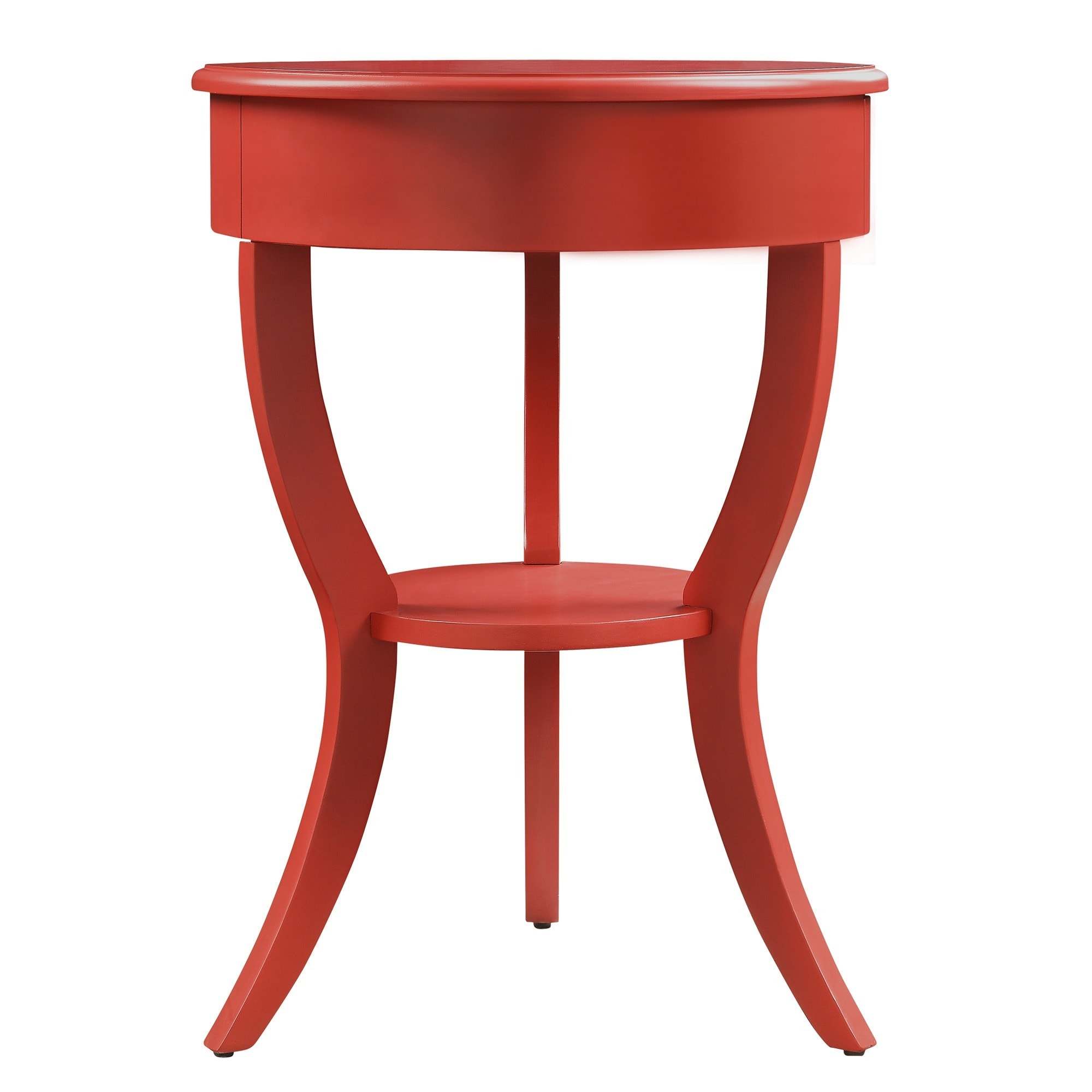 burkhardt tripod round wood accent table inspire bold red free shipping today rustic couch pub dining bird kohls bedspreads and comforters outdoor furniture canberra side with