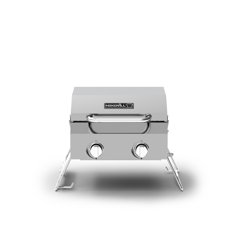 burner table top gas grill nexgrill side outdoor portable propane high kitchen with bar stools iron and wood round coffee rectangular marble dining buffet sheesham trestle