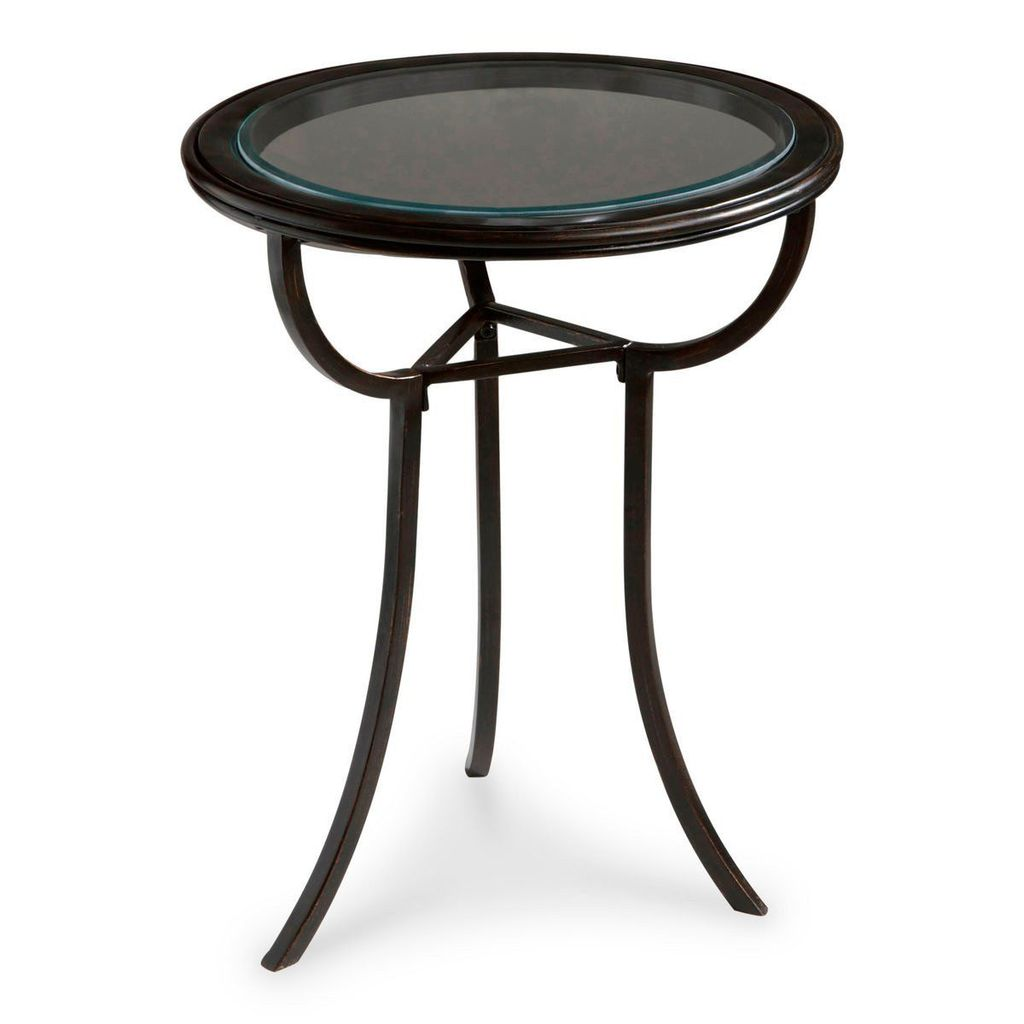 butler furniture danley transitional round accent table black side tables but corner bedside chinese vase lamp pottery barn torchiere floor coffee arrangements diy base for glass