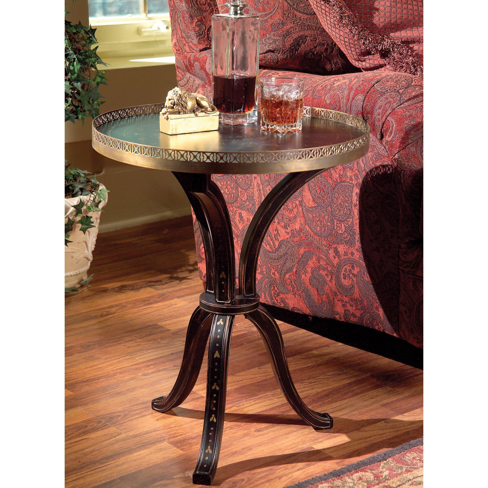 butler hand painted accent table products wood specialty company battery standard lamp dale tiffany ceiling lamps skinny couch glass coffee with shelf very narrow hall outdoor