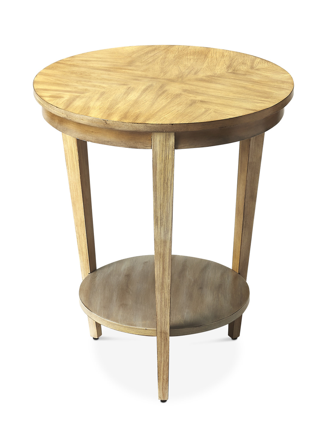 butler loft round accent table hom furniture nightstands toronto wicker couch ikea cube boxes outdoor living clearance dining with seating pottery barn yellow home decor kids