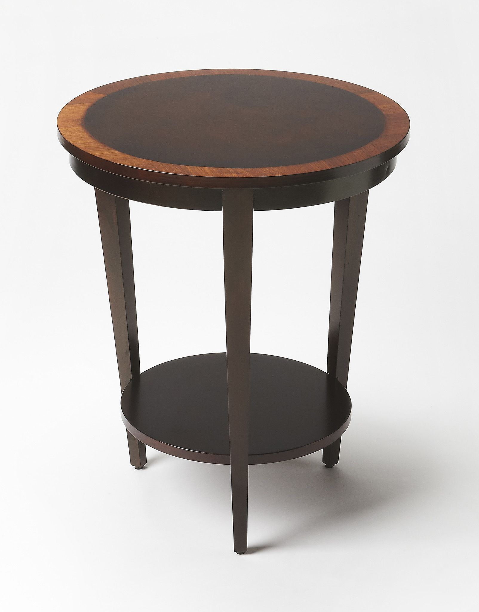 butler loft serenade cherry nouveau round accent table modern and ethan allen dining kidney shaped coffee beer cooler west elm vintage marble top pottery barn chair cover small