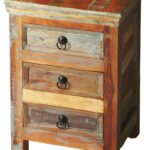 butler specialty company lecanto crafted from meskdgdmbcxh painted accent tables chests recycled wood solids multi colored hand finish ensuring bonafide hidden designer table 150x150