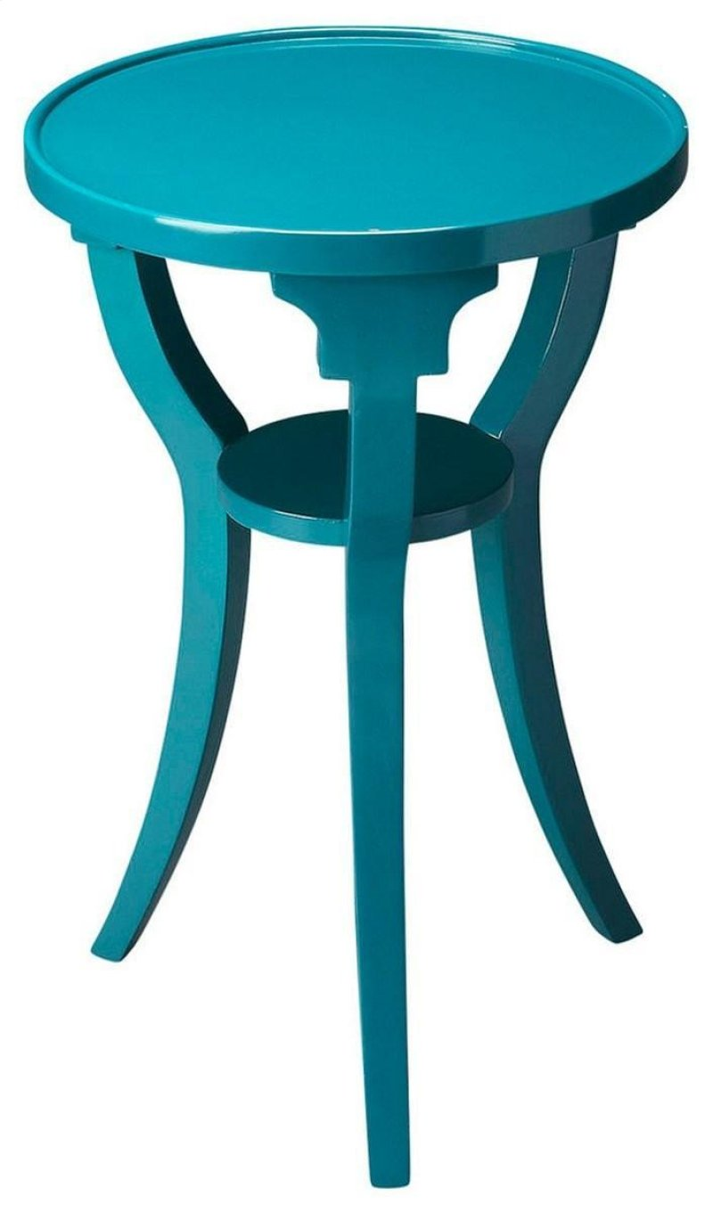 butler specialty company sea girt this teal meqldsqdxcci accent table sure energize any space crafted from select hardwood solids hidden ashley furniture round glass coffee small