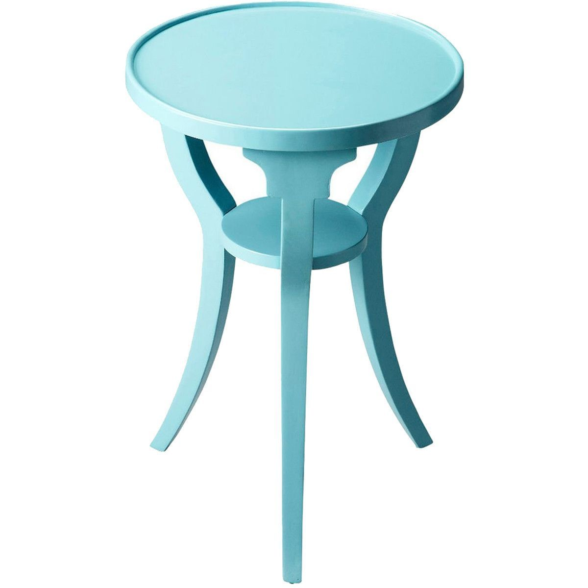 butler specialty masterpiece dalton sky blue round accent table winsome furniture patio umbrella yellow chocolate brown end tables foot console cordless led lamp target threshold