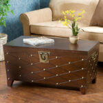cainhoe nailhead trunk coffee table astoria grand review accent with nailheads furnitures mania mirrored bedside lamps square metal end wicker storage nickel legs west elm wood 150x150