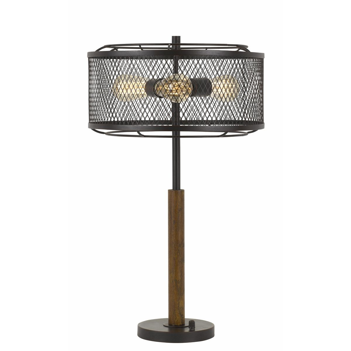 cal lighting casual dawson light table lamp dark accent height wood bronze finish living room furniture for small spaces granite top end tables yellow retro sofa dining ideas gold