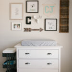 caleb rustic neutral nursery reveal sobremesa stories calebs with white gray and wood accents ikea changing table lawless hardware accent for sliding barn door futon target patio 150x150