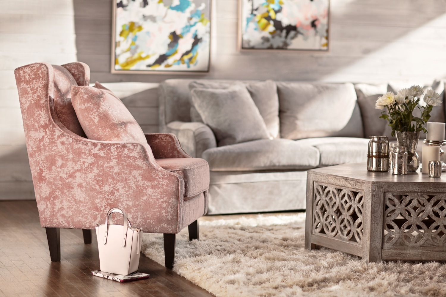 campbell accent chair blush value city furniture and mattresses chairs with table click change hairpin legs ikea pottery barn glass top coffee wooden lamps for living room uma