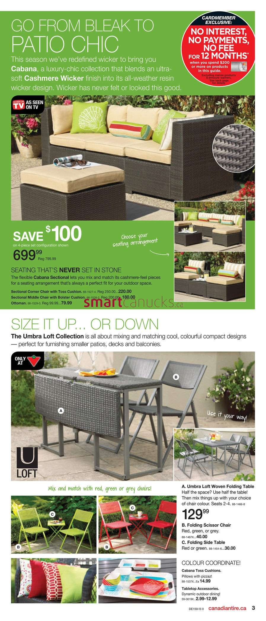 canadian tire spring flyer outdoor side table view all plastic stools bunnings pier living room small grey accent pipe coffee cherry wood end tables set nest mosaic garden dining