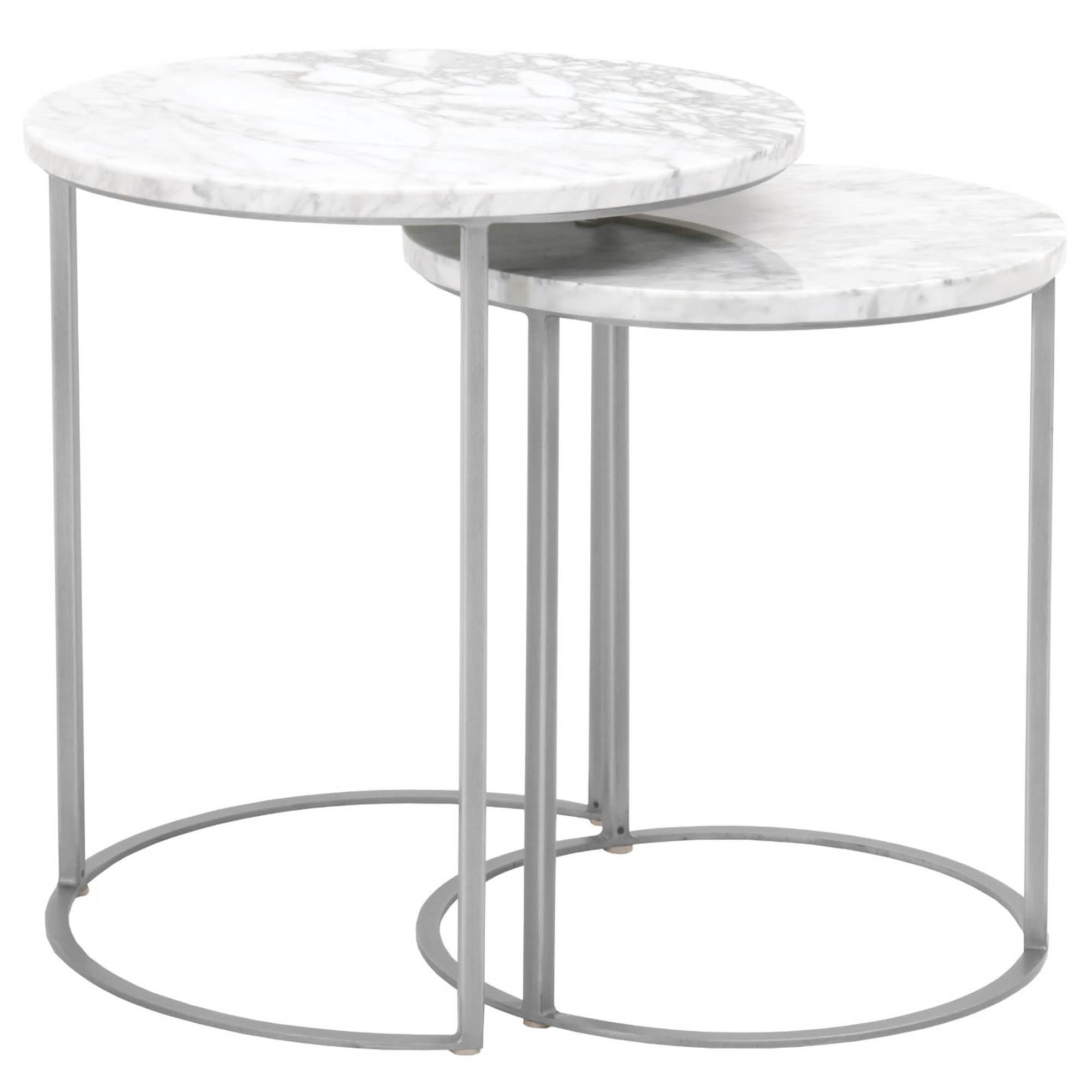 candelabra home carrera round nesting accent table stainless steel brushed black metal industrial narrow wine rack waterproof outdoor chair covers decoration things half circle