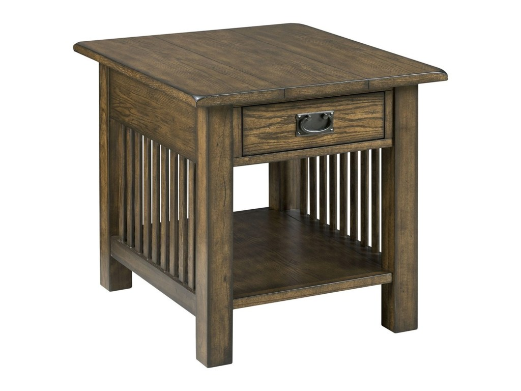 canyon mission rectangular end table with drawer storage morris products hammary color small accent home iirectangular outdoor furniture corner wooden plant stand fold pottery