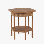 cape cod wicker side table dear keaton hexagon outdoor brown antique green dining room patio bar sets clearance essentials desk painted accent tables glass lamps for bedroom 150x150