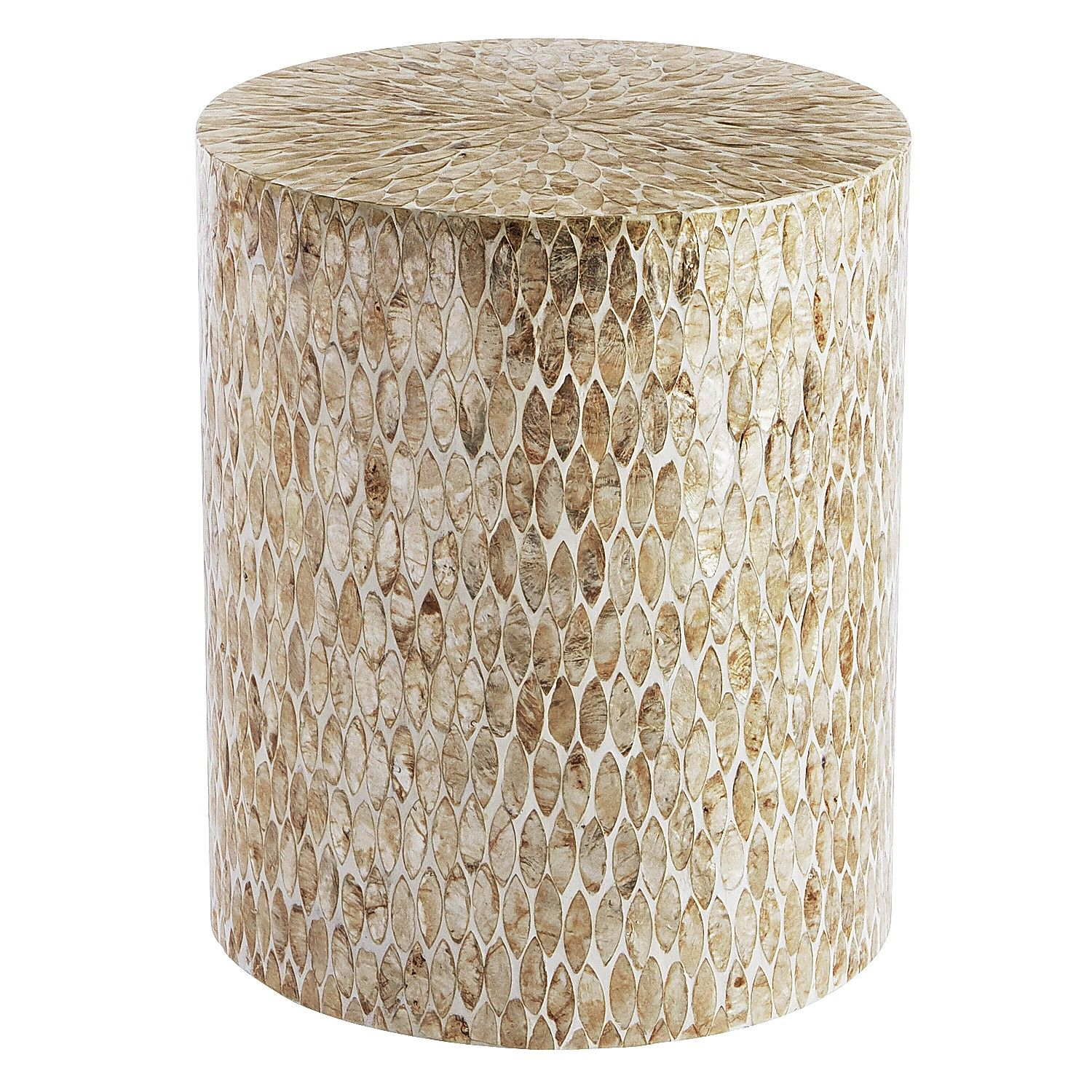capiz round drum accent table pier imports marble cylinder gold console lamps one leg ikea garden storage box industrial metal end top build your own glass drawer pulls buffet