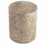 capiz round drum accent table pier imports wood wall decor small teak silver target white side tables for living room wooden tray coffee patio umbrella canopy outdoor furniture 150x150