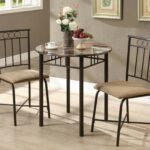 cappuccino marble bronze metal bistro set from monarch accent table and chairs round silver coffee mirrored end tables nightstands glass with gold trim affordable antique drop 150x150