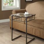 cappuccino marble bronze metal snack table from monarch accent coleman furniture small round wood end wicker silver coffee outdoor melbourne pier imports mirrors yellow wingback 150x150