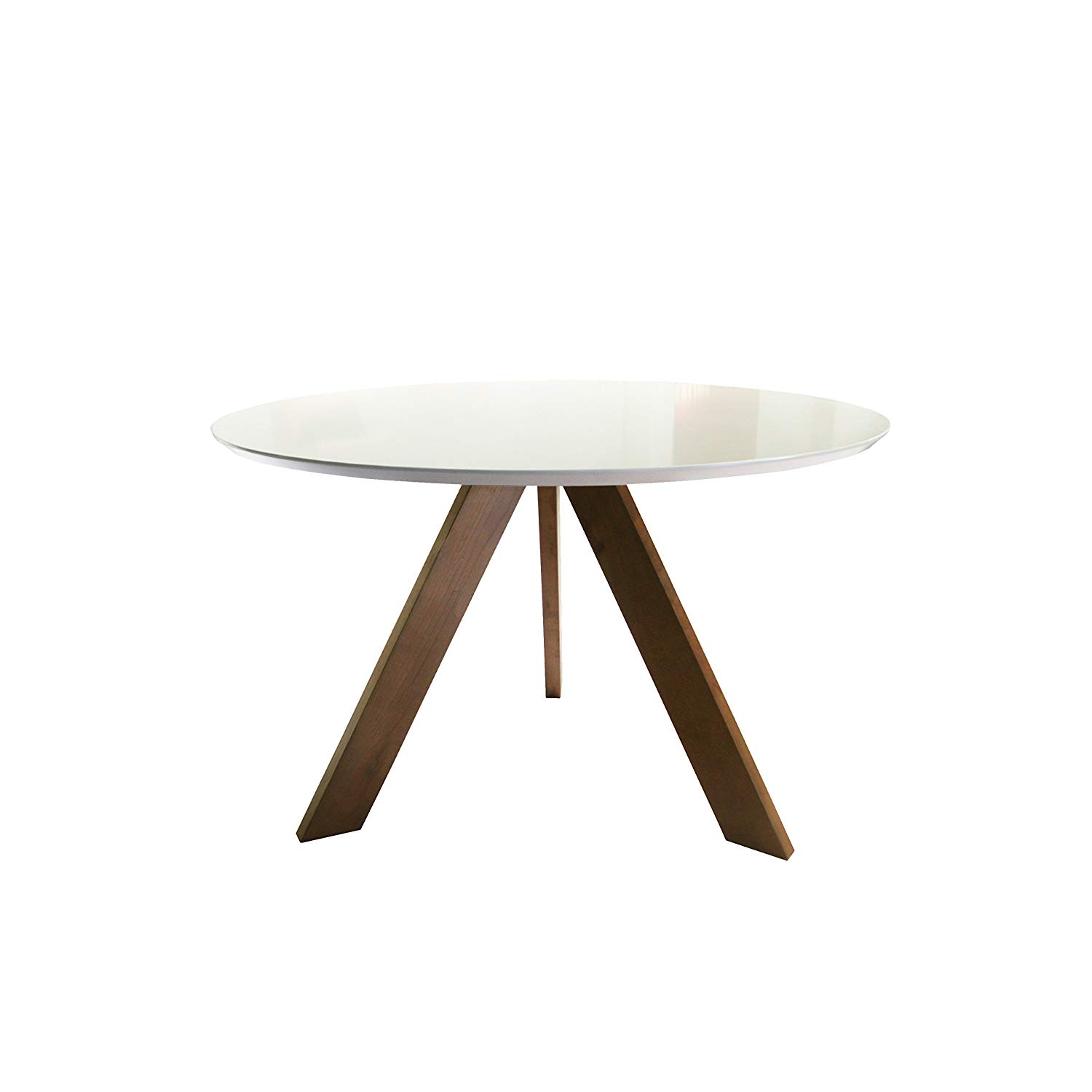 carabelle table matte white teak tables target scalloped accent curved mirrored bedside farmhouse with leaf round coffee toronto entryway furniture tablecloth measurements solid