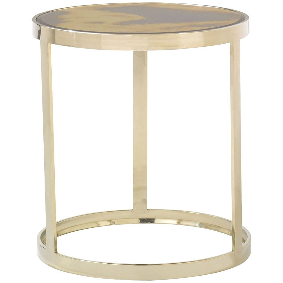 caracole accent tables gold bullion round metal side table homepop original resolution small couch end ikea base pottery barn bedside threshold transition tall bar and chairs
