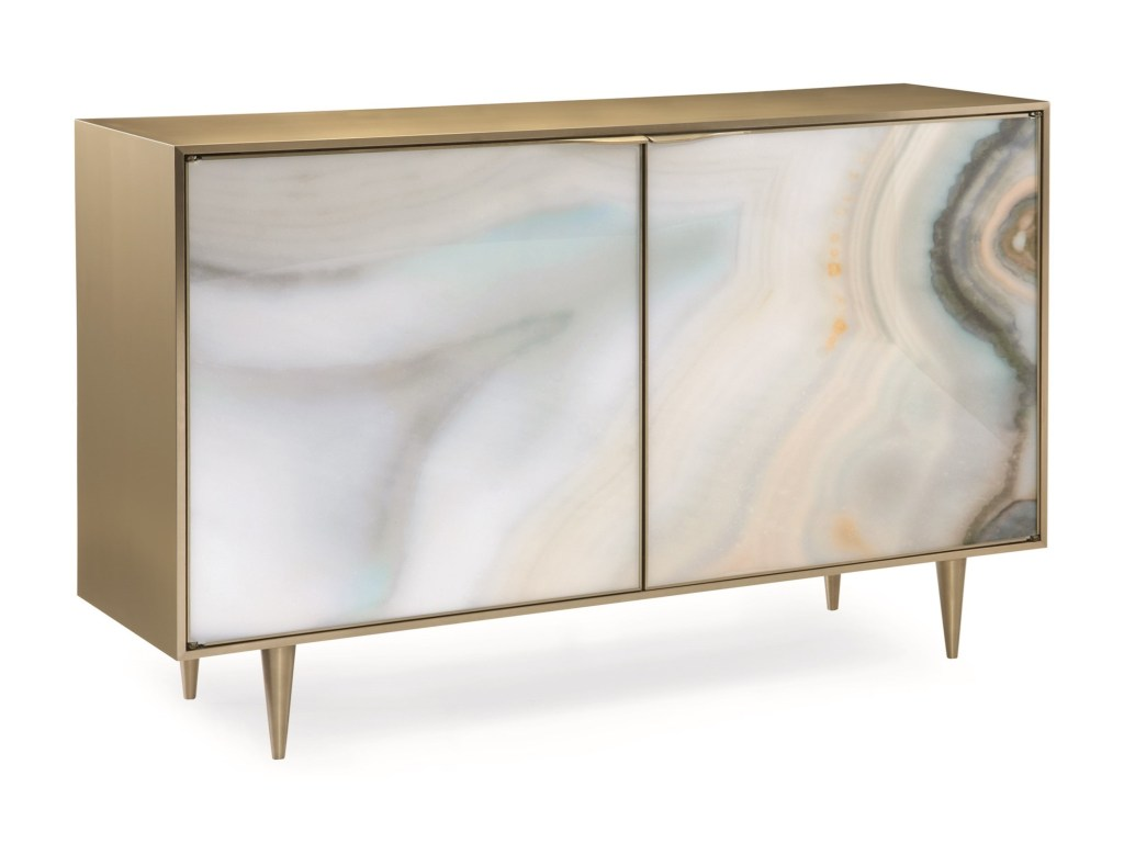 caracole classic contemporary extrav agate accent chest products color cla table white glass nest tables small deck furniture plexiglass cube magnussen allure end martin home