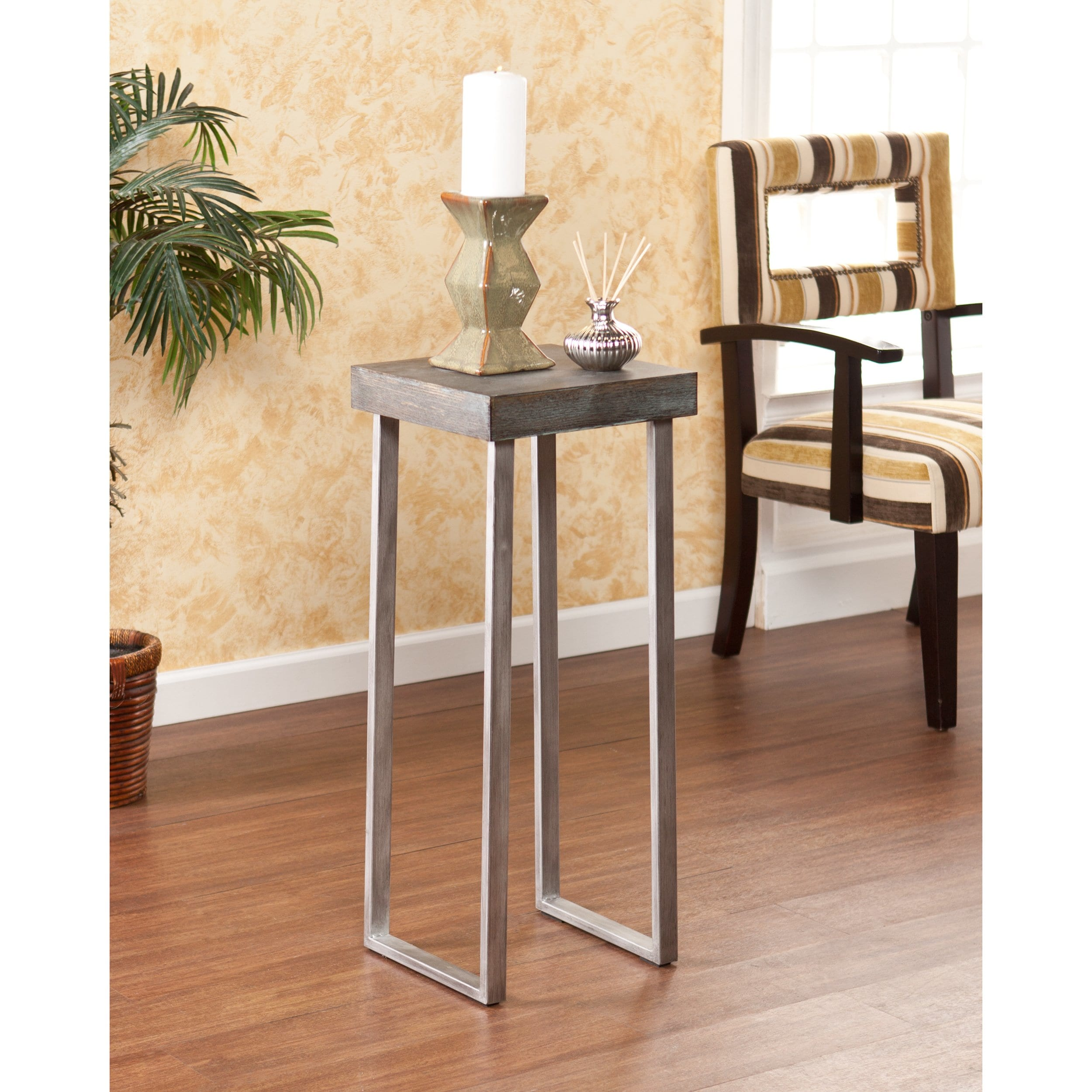 carbon loft murdock pedestal accent table free shipping today contemporary end tables with drawers circular patio cover and chair set charging station small coffee chairs light