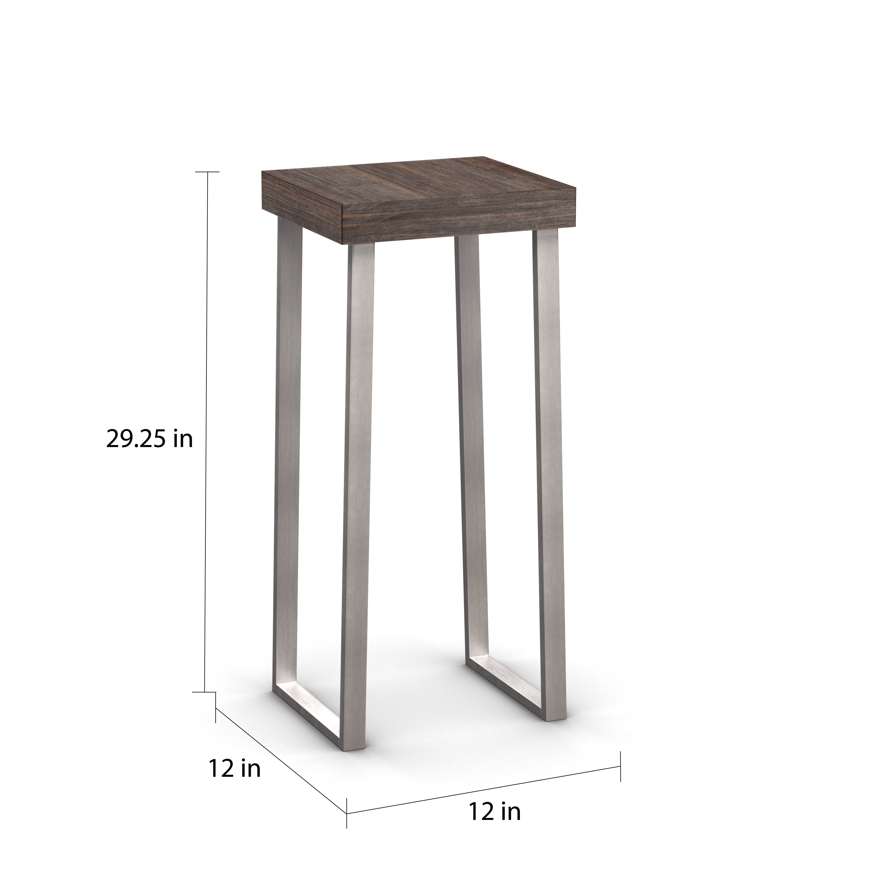 carbon loft murdock pedestal accent table free tall round shipping today cube side hairpin leg stool trestle desk fruity alcoholic drinks grey placemats and napkins rattan coffee