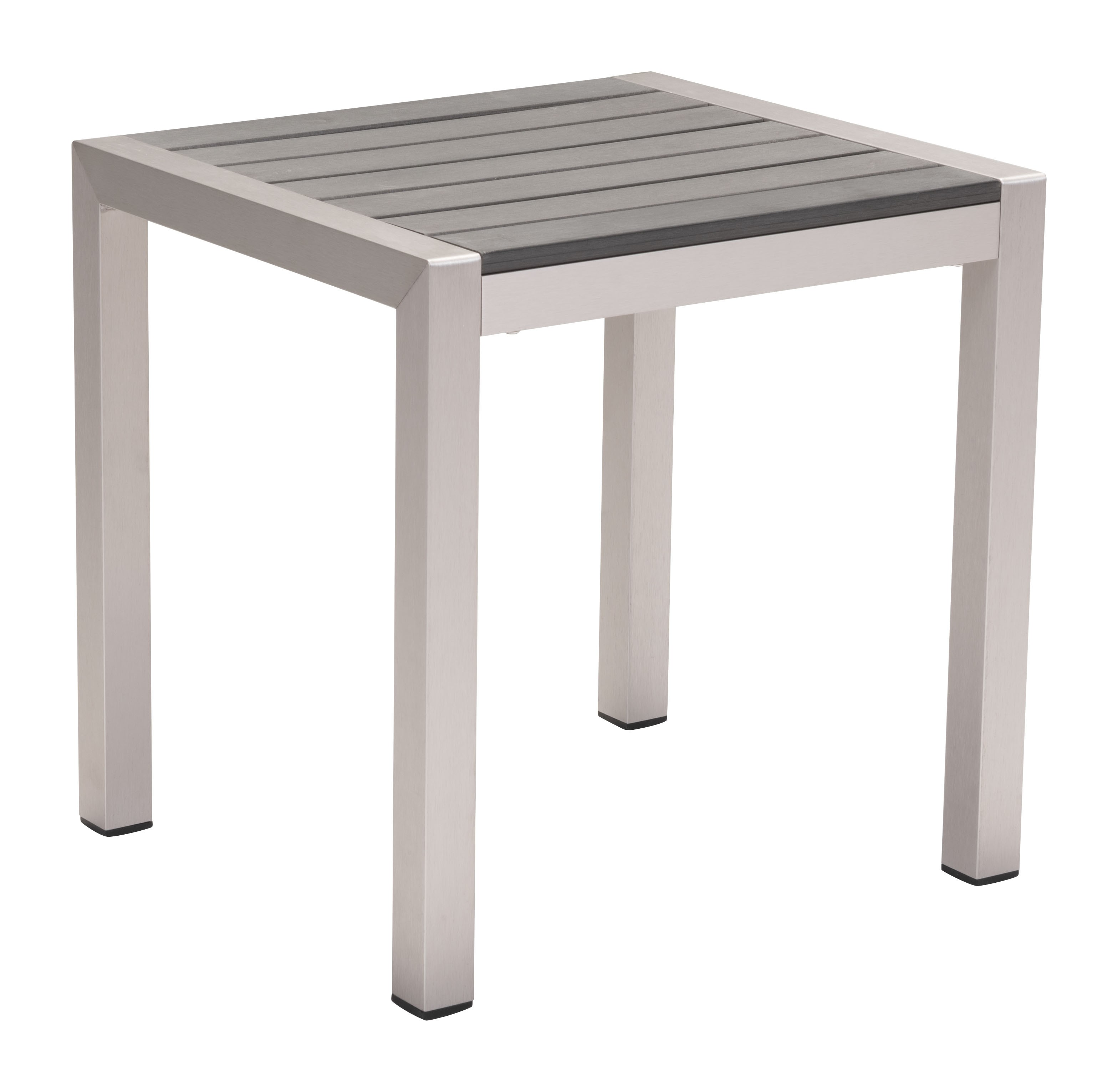 carly indoor outdoor side table gray aluminum grey small cabinet legs dining and chairs clearance narrow mirrored bedside cabinets pubg settings yellow rug mcm furniture area wine