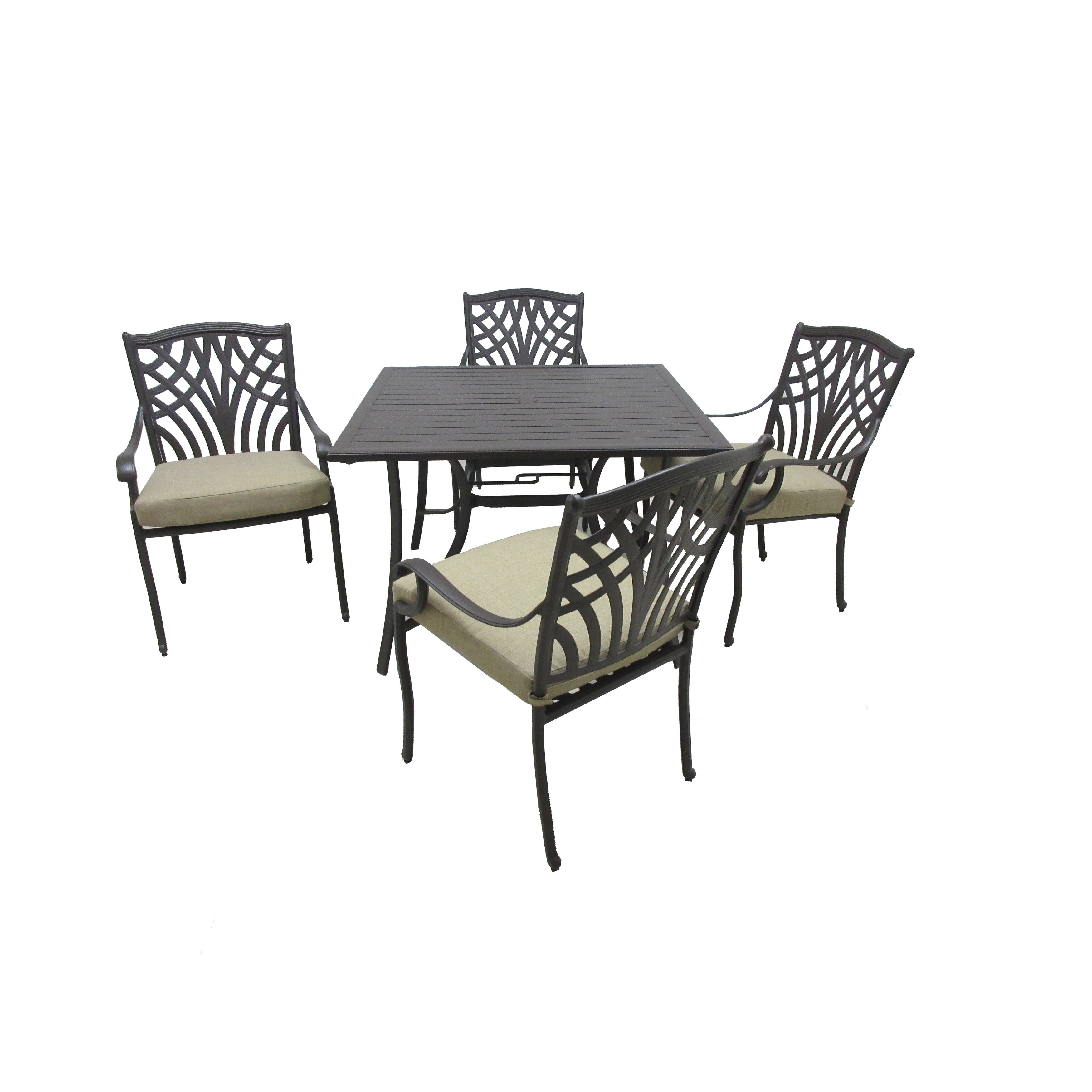 carmen piece outdoor dining collection free shipping today slat din tbl metal accent table pier one seat cushions basket coffee target scalloped mirrored side tables for bedroom
