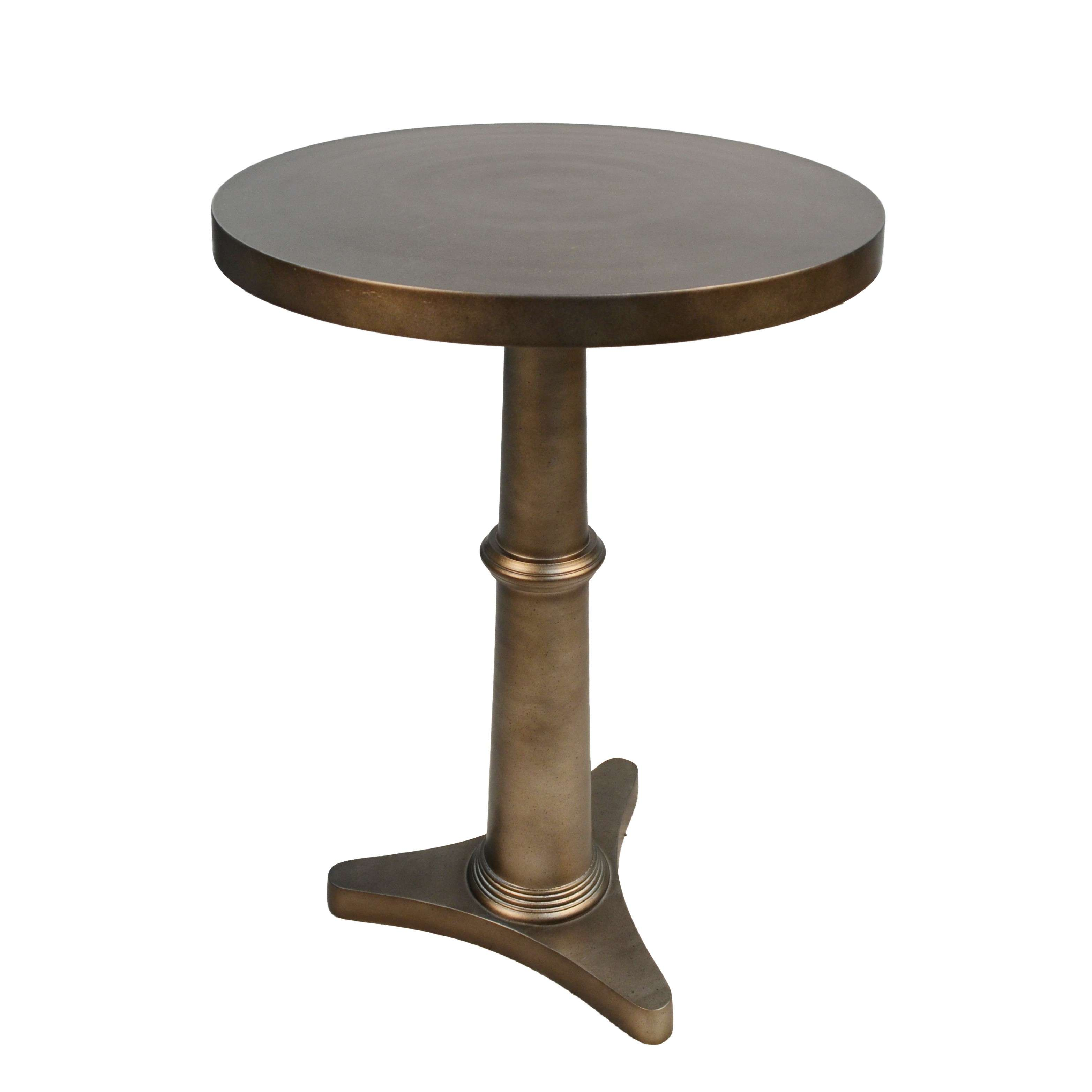 carolina chair table chatham antique bronze round accent metal tables perched bird formal living room furniture modern marble top coffee high tops bar hooker end concrete console