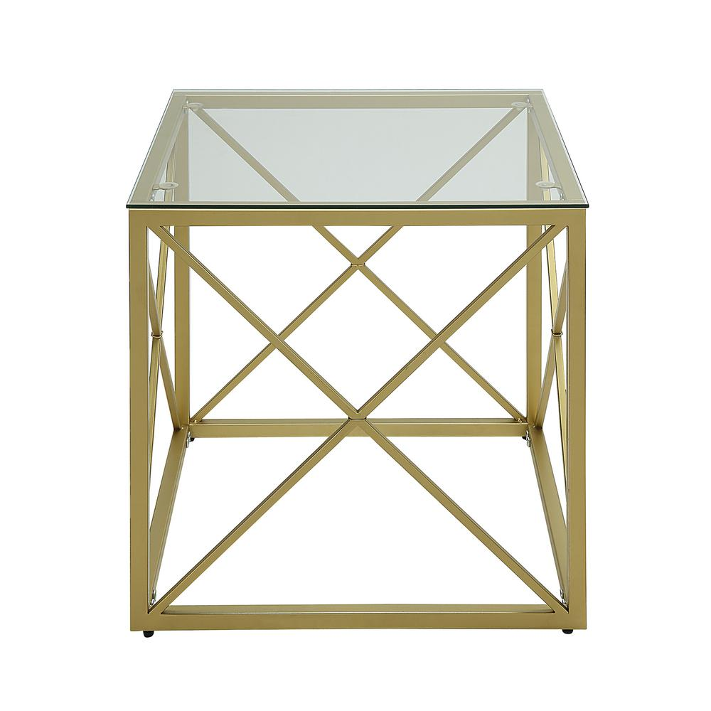 carolina cottage maren gold cube glass top accent table gld end tables with the sectional sofas edmonton european furniture trestle dining solid wood drawer small sofa lamps