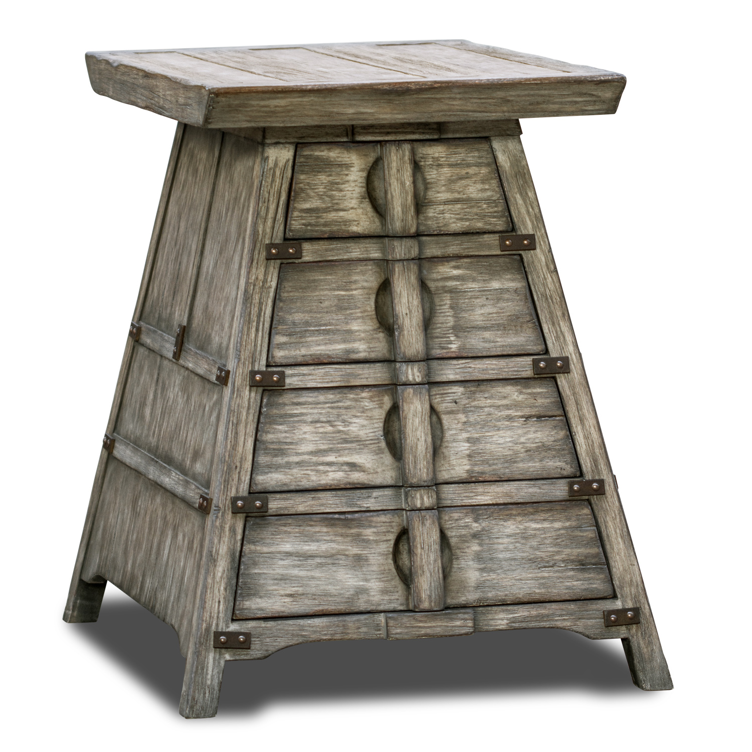 carpenter table driftwood matthew williams accent our catalog categories tables indoor barn doors small drop leaf with chairs tulip side marble cool desk lamps inch round