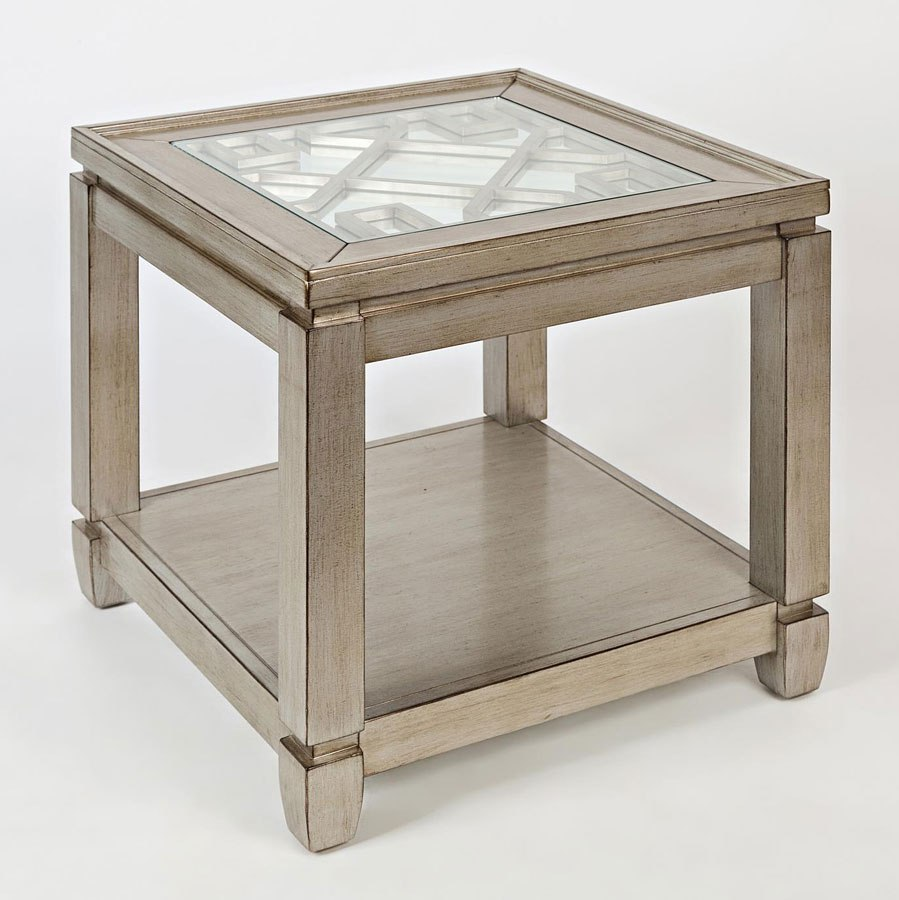 casa bella mirrored end table vintage silver occasional and accent with drawer teal coffee porch tables west elm free shipping coupon code cocktail natural wood storage outdoor