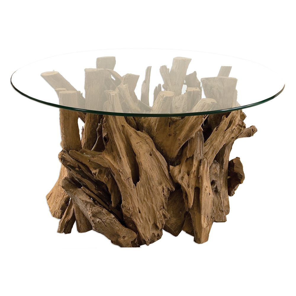 casegoods accent tables darby road home round glass top table driftwood pier one furniture clearance base side pottery barn kids registry oak nest tro reclaimed wood coffee