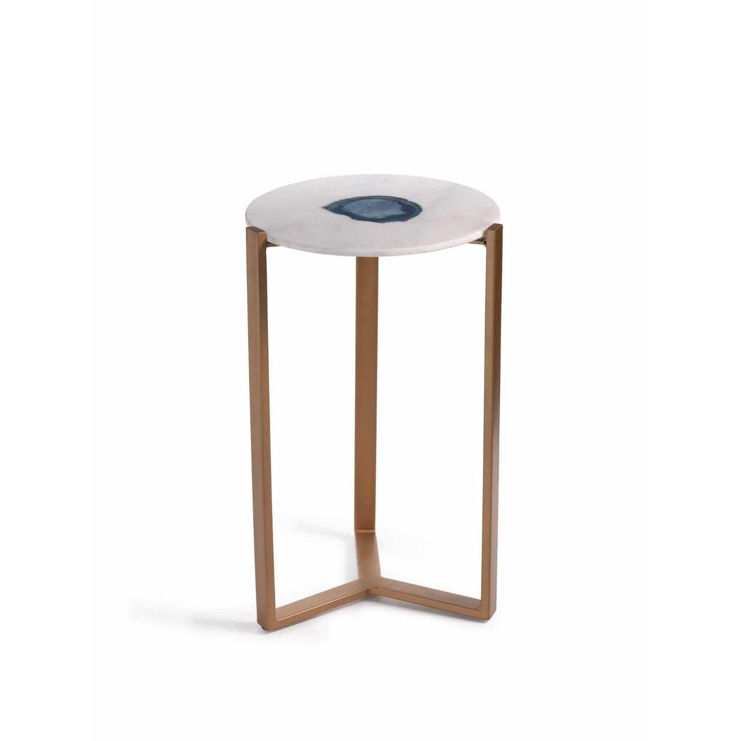 caspian tall accent table marble and inlaid agate free zodax inch high inlay simplify pedestal shipping today threshold patio furniture ikea small alexa echo dot piece dining sets