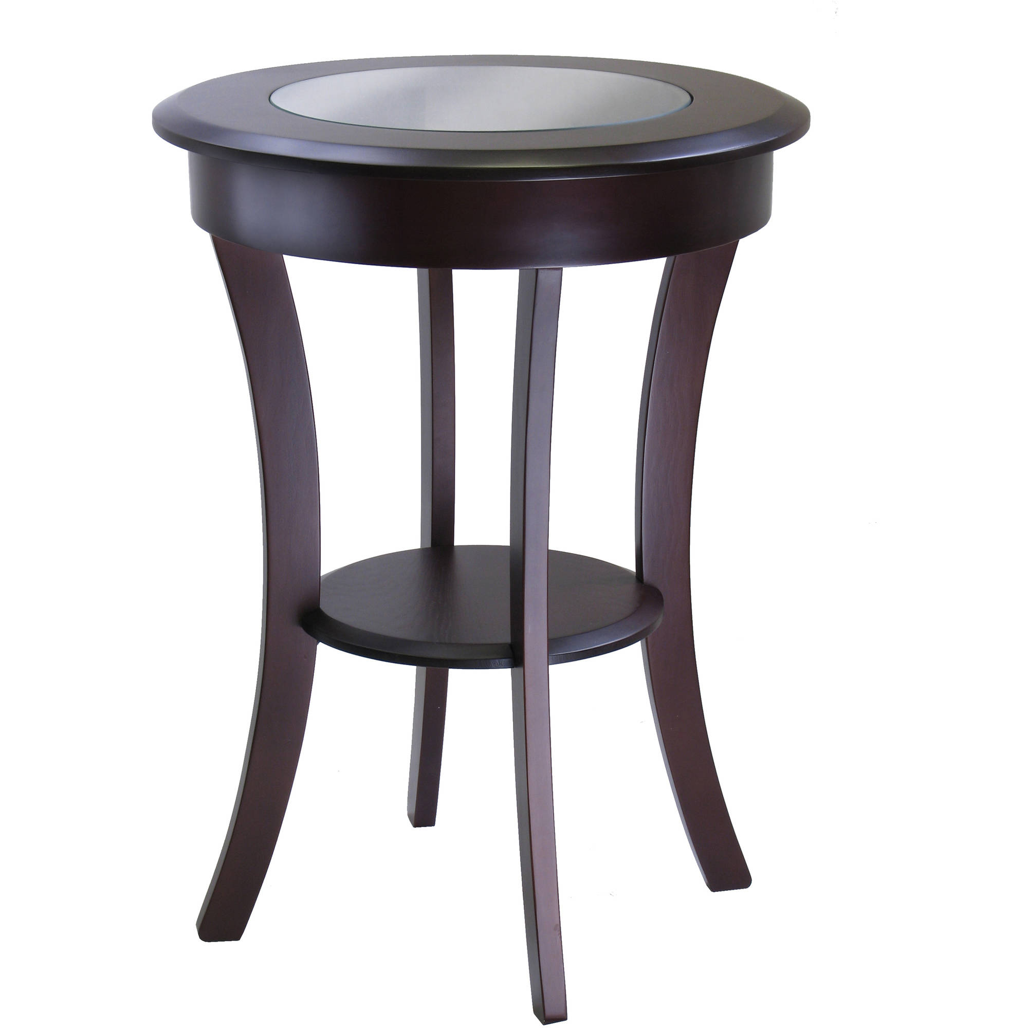cassie round accent table with glass top chinese porcelain lamps knobs dining chairs edmonton living room interior design oval lucite coffee target gold console wooden legs
