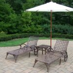 cast aluminum umbrella side table outdoor tablecloth for inch round accent rose gold console slim white marble cocktail pier papasan chair simple brooklyn furniture patio 150x150