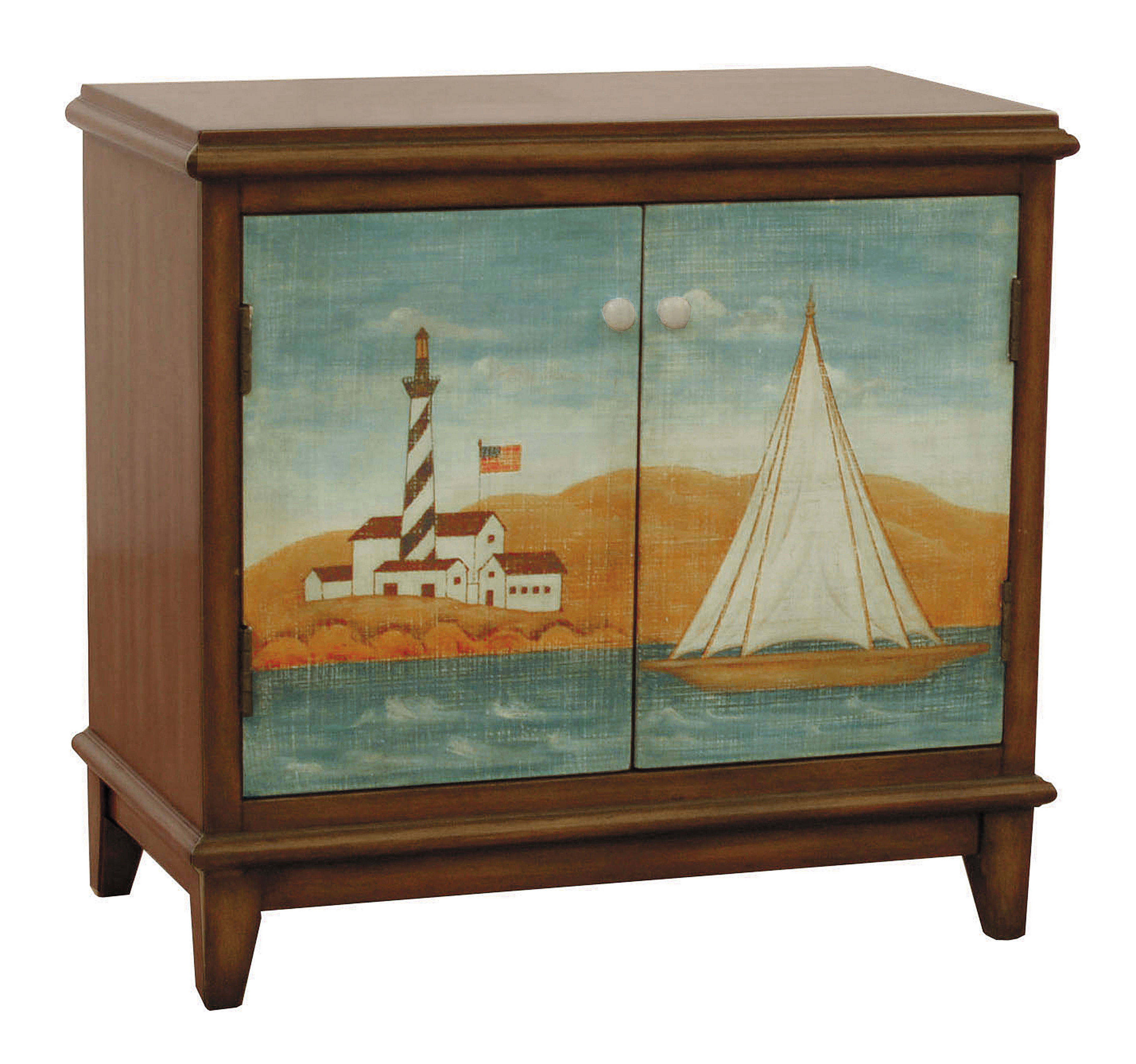 casual brown wood rectangle hand painted accent chest the classy home scc tables chests click enlarge gold color coffee table pedestal legs bent acrylic brass nautical lights