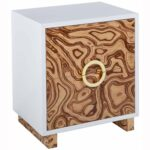 cavalli side table burl nightstands bedroom furniture tov accent tables end shades light target threshold square outdoor coffee cast aluminum patio hairpin leg bedside drawing 150x150