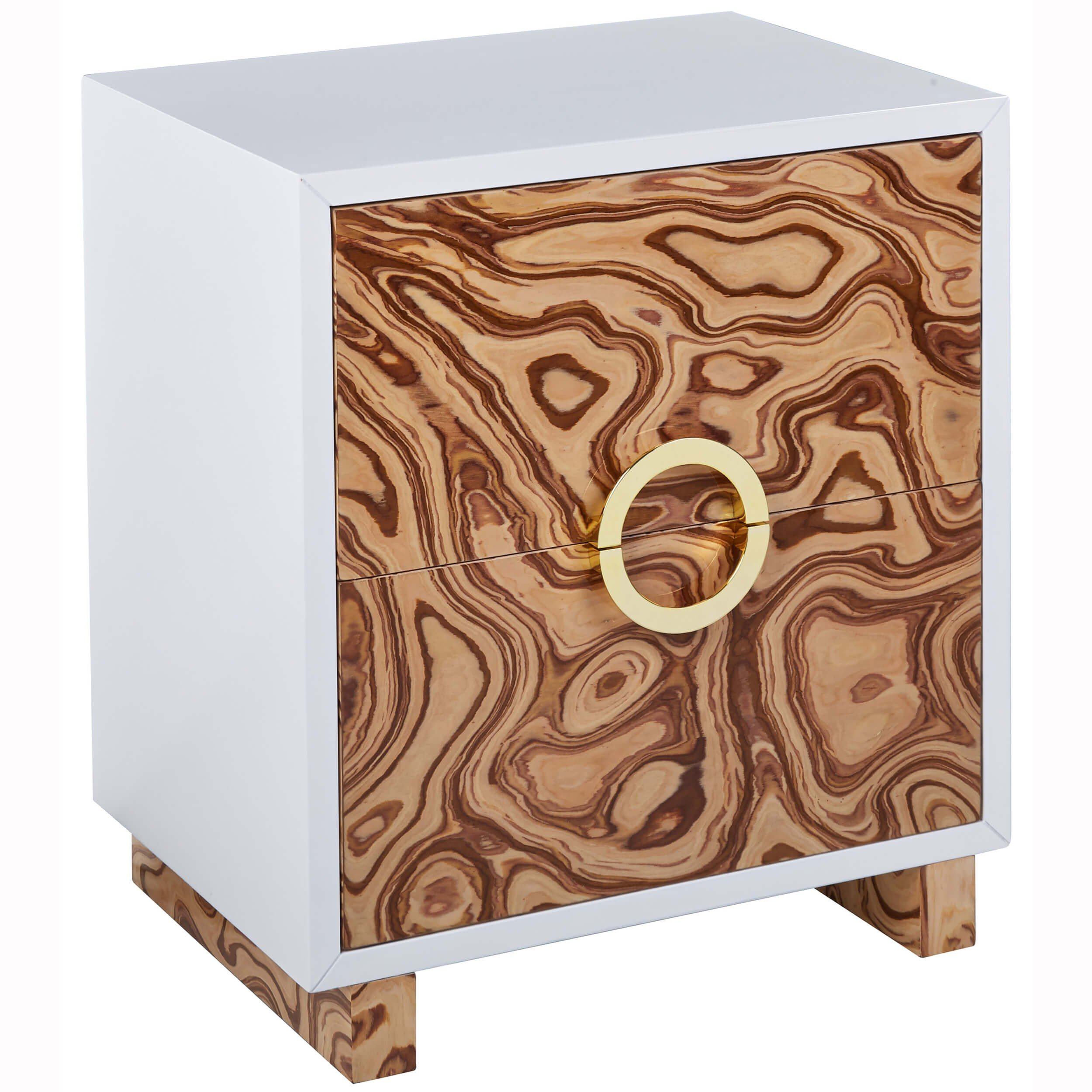 cavalli side table burl nightstands bedroom furniture tov accent tables end shades light target threshold square outdoor coffee cast aluminum patio hairpin leg bedside drawing