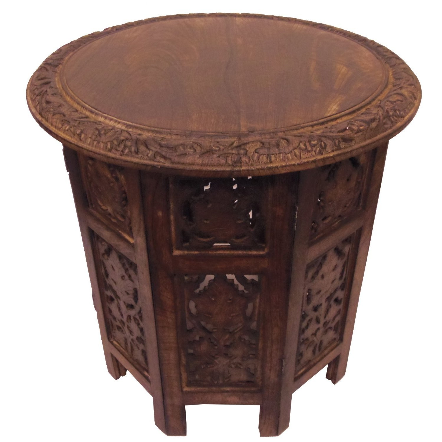 celebration folding hand carved wood accent table free shipping today hardwood nightstand with charging station large marble dining room and chair sets wire end trestle white
