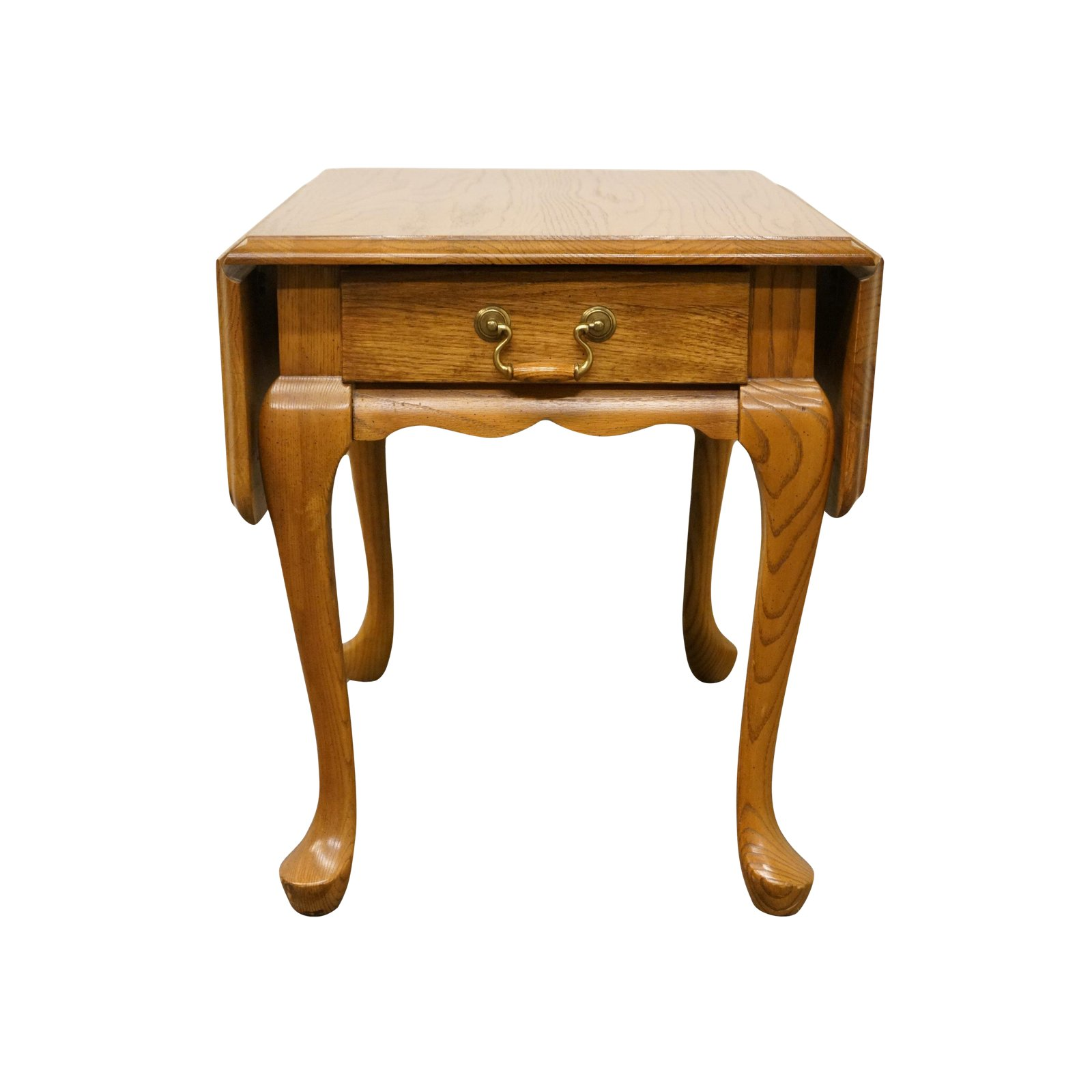 century french country mersman solid oak drop leaf accent end table unique tables chairish whole tablecloths for weddings folding antique mirror pier one bedroom sets coffee chair
