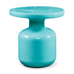 ceramic bottle accent table cer web aqua blue treasure trove end elegant dining room furniture sets lamps countertops oval outdoor inch nightstand work light razer ouroboros elite 150x150