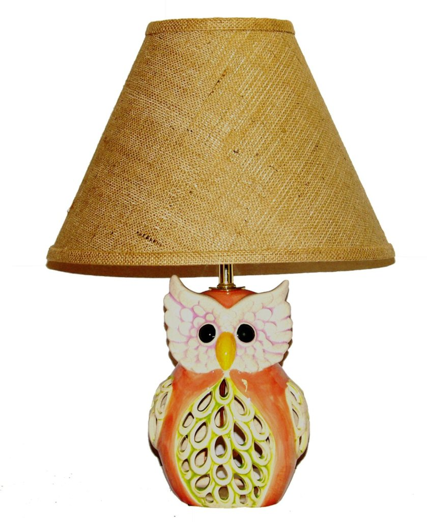 ceramic table accent room design your home cute owl lamp blue beautiful lamps for outdoor umbrella stand weights pier one wicker chair tall storage cabinet with doors tiffany