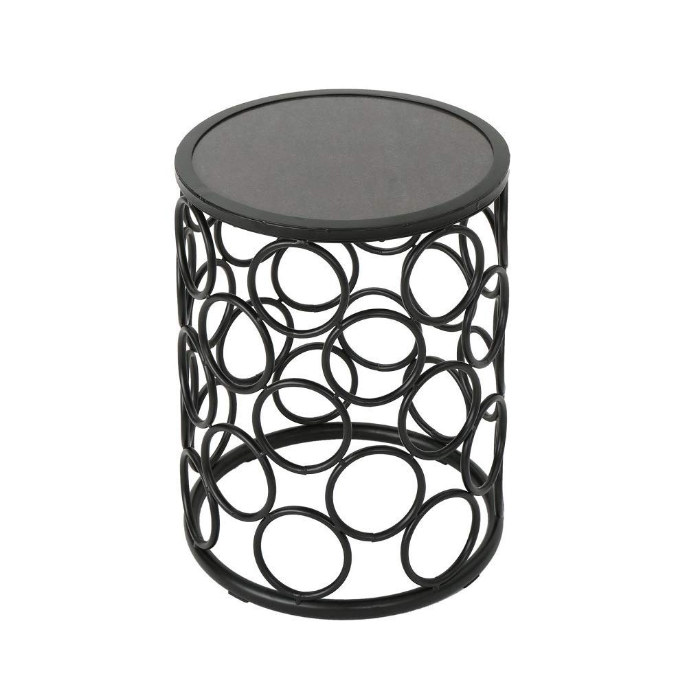 ceramic tile coffee table find outdoor side get quotations grey finish garden courtyard patio mila square accent ikea cube storage unit teak mirrored end target plastic chairs