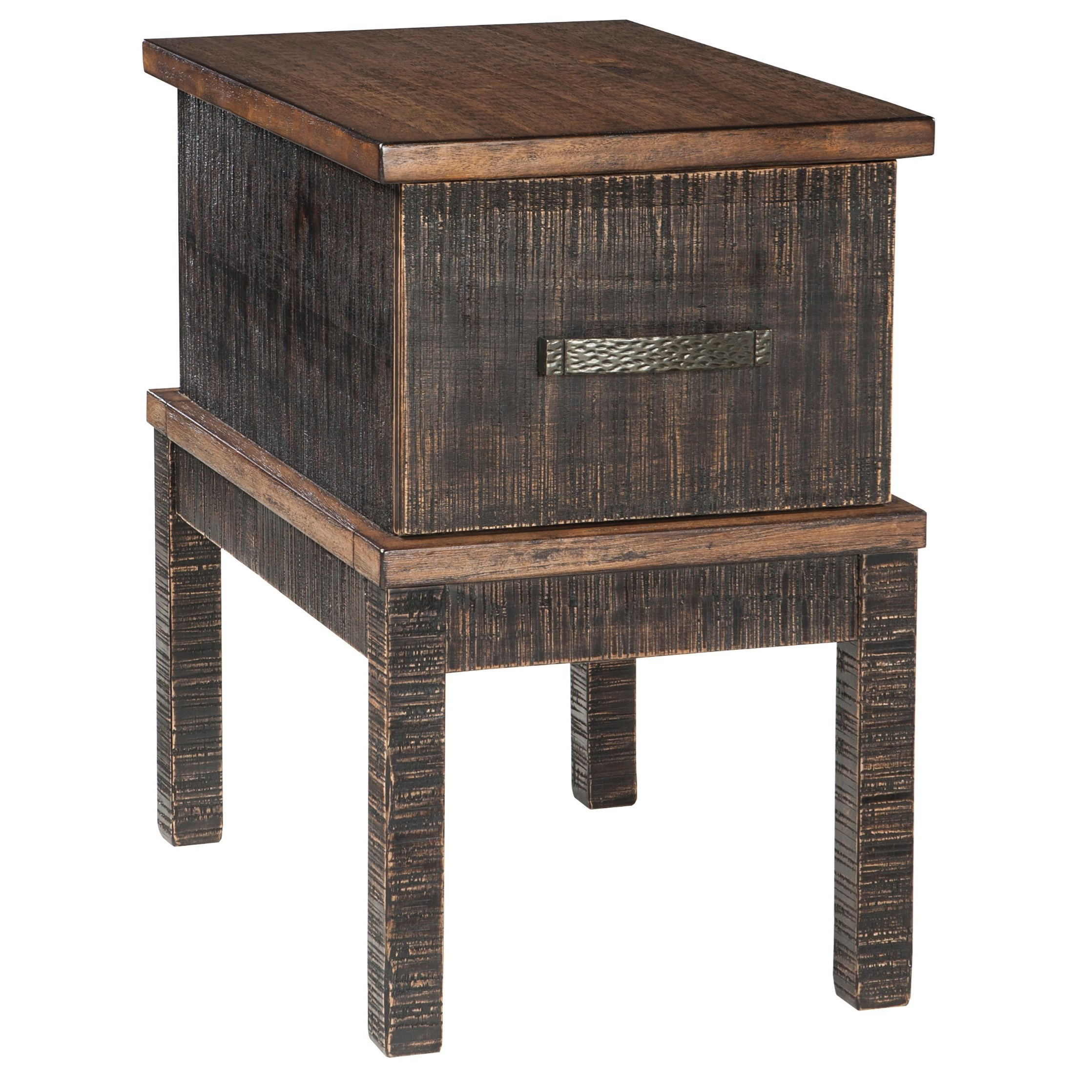 chair side end table with built usb charging ports products signature design ashley color stanah accent port retro furniture ers set tables ott coffee triller target glass cube